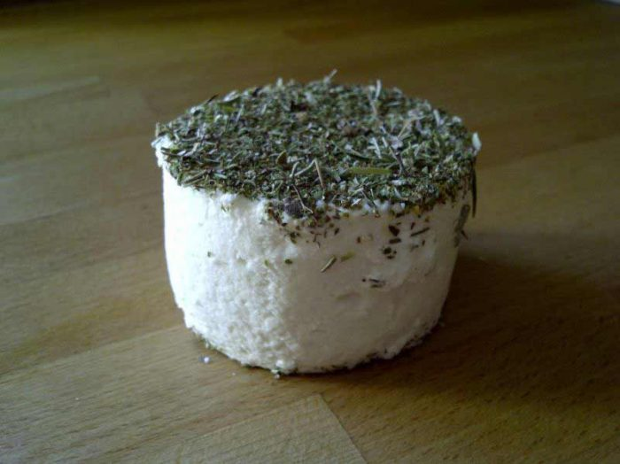 tomme herbes 700x524 - Tomme sarriette